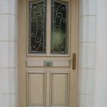 Peinture porte extérieure
