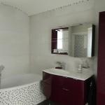 Pose faïence, mosaïque et carrelage dans salle de bain