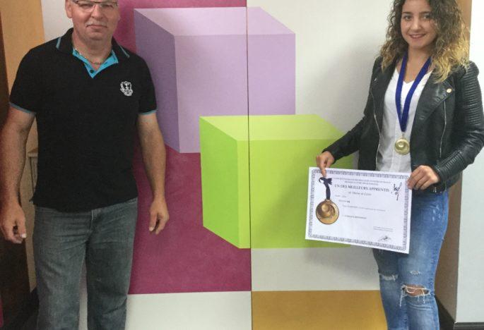 """Concours """"Un des Meilleurs Apprentis de France"""" Une médaille d'OR chez Thierry CHATELAIN"""